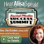 Alisa Meredith at the Social Media Success Summit!