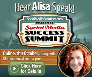 Alisa Meredith at the Social Media Success Summit!
