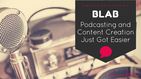 Blab - Live Streaming with fantastic audience engagement - a new option for podcasters and bloggers? I think so. https://alisameredith.com/blab-podcasting-content/