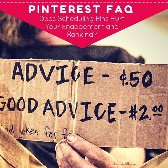Pinterest FAQ: Does Scheduling Pins Hurt Your Engagement and Ranking?