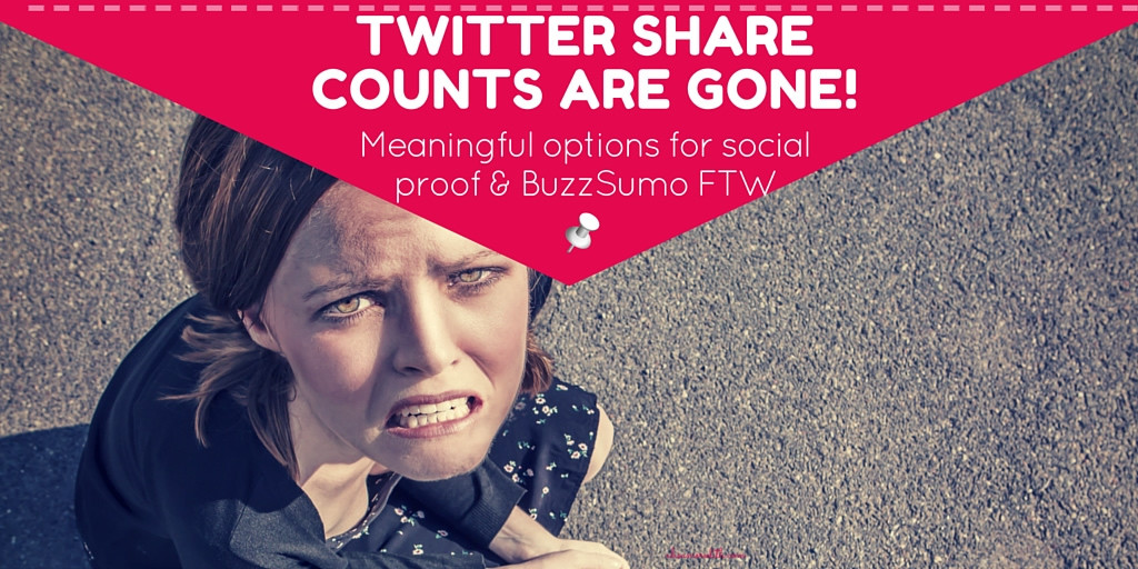 Where are my twitter share counts? Social Proof and how to get your counts back!