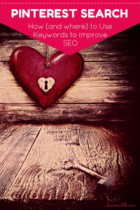 How to improve your Pinterest SEO with keywords