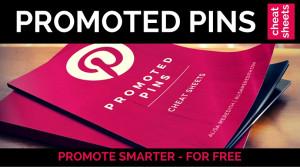 Promoted pin cheat sheet