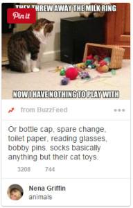 Use keywords in Pinterest pin descriptions!