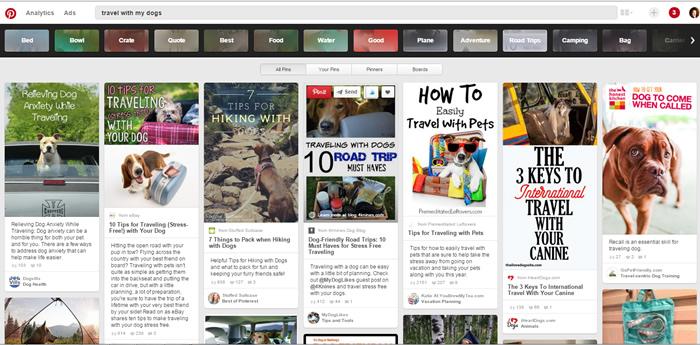 Pinterest keyword search plural