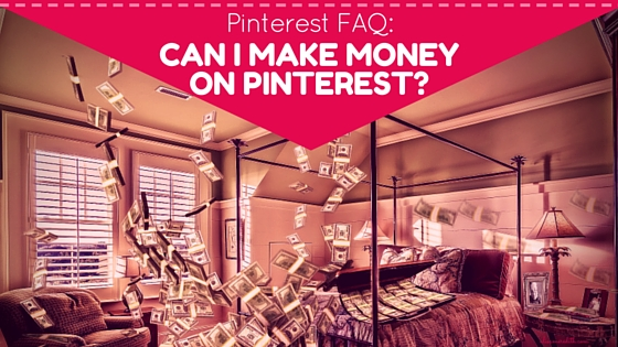 Can I make money on Pinterest? Sure you can! via @alisammeredith