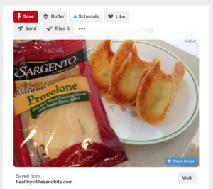 Pinterest rewards content creators with follow buttons and visit buttons even in other pinners' pins!
