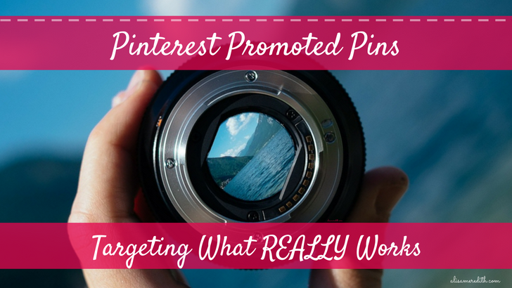 Pinterest Promoted Pins - New options for targeting visitors and those who engage with your content. Real money-saving options here!