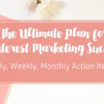 A Pinterest Plan for Marketing Success