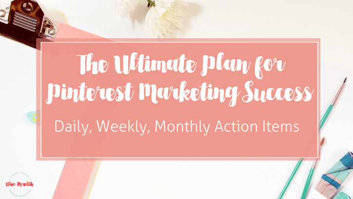 ultimate plan for pinterest marketing