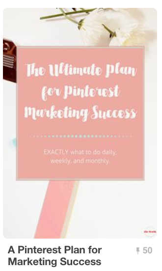 Pinterest Plan for Marketing Success