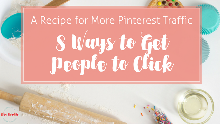 8 Ways to get more Pinterest Traffic