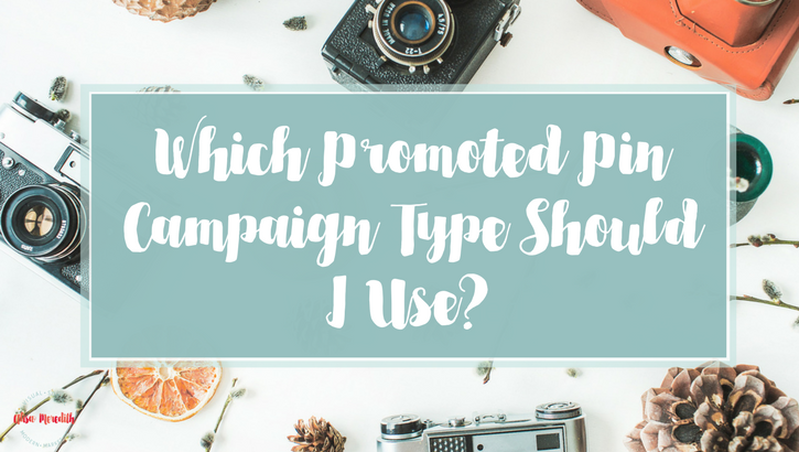 Pinterest Promoted Pin Campaign Types - Which should I choose?