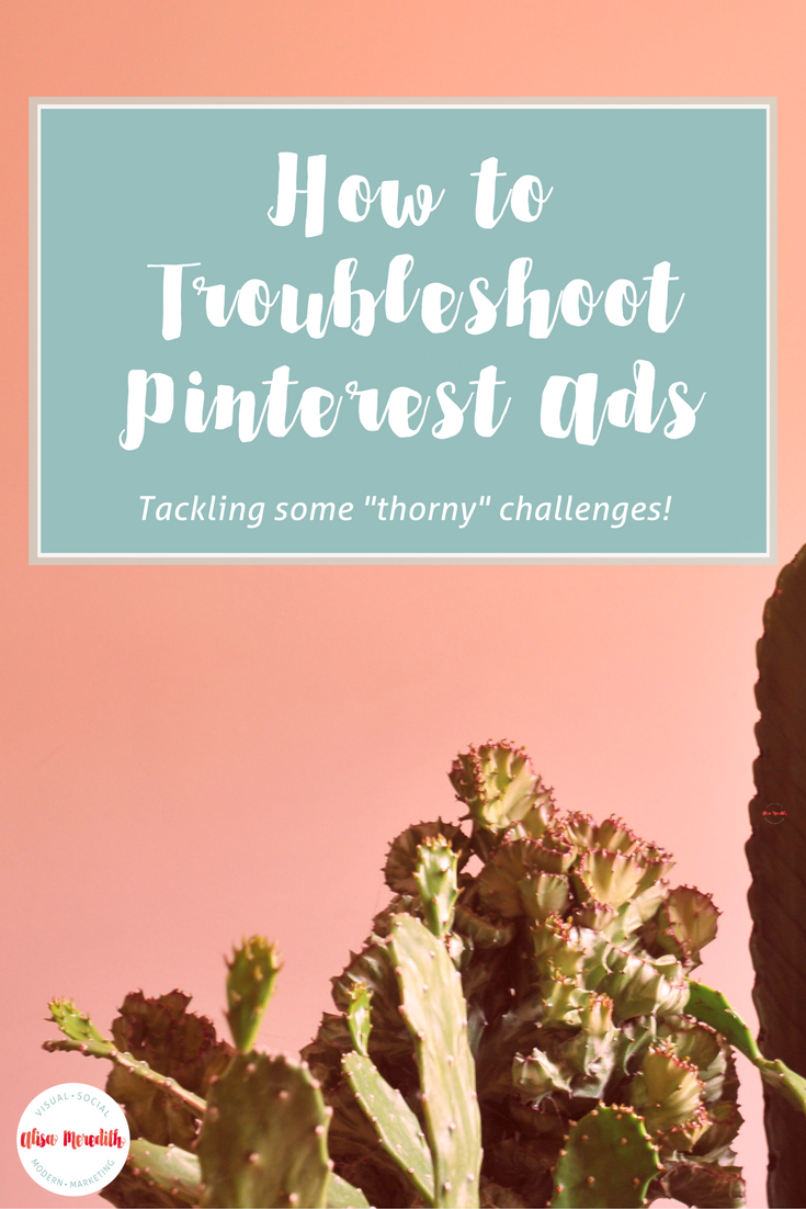Pinterest Promoted Pin Problems