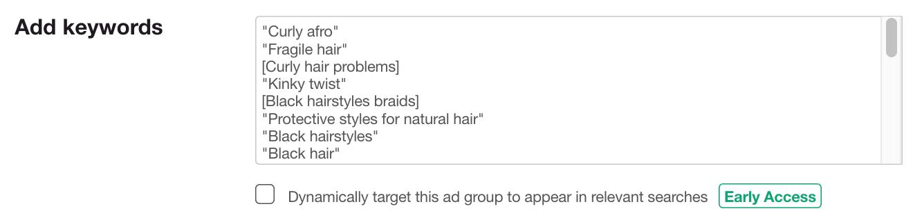 Dynamic Ad Targeting