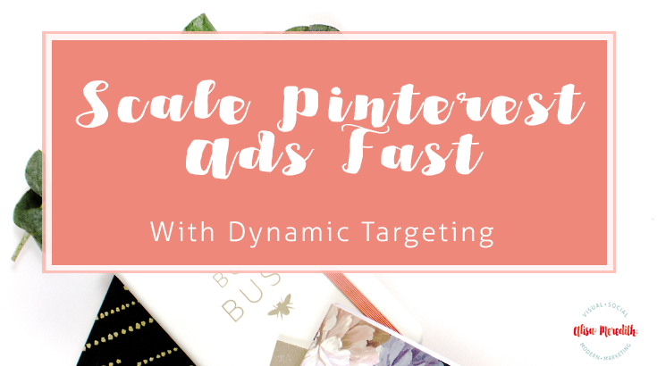 Pinterest Ads Dynamic Targeting