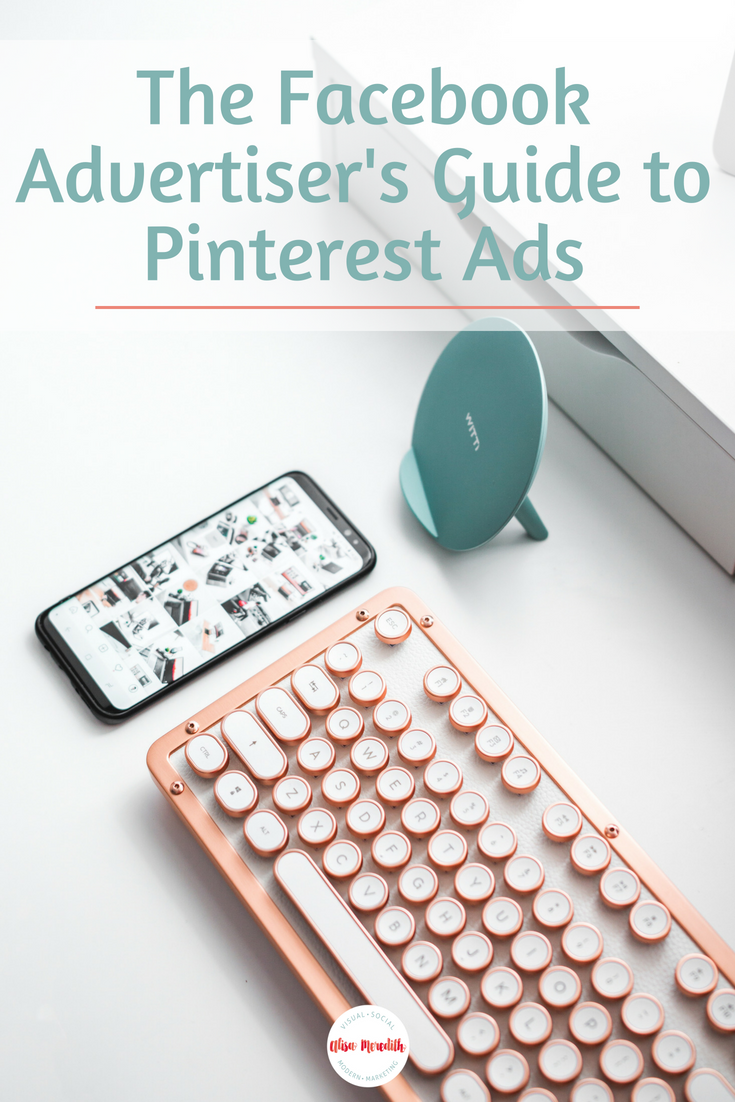 The Facebook Advertiser's Guide to Pinterest Ads - Promoted Pins - Blog Title Image